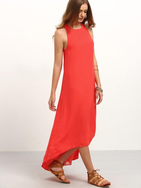 שמלת DARIA אדומה
