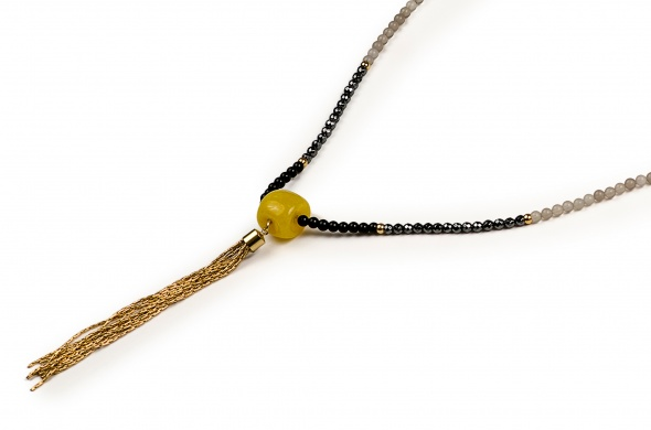 שרשרת אמה זהב צהוב