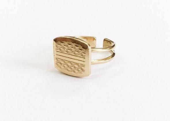 טבעת חפת זהב