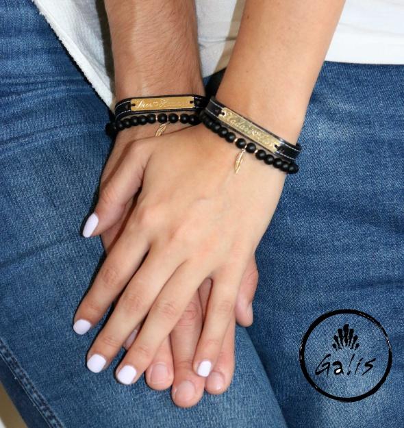 סט חריטה זהב שחור לזוגות