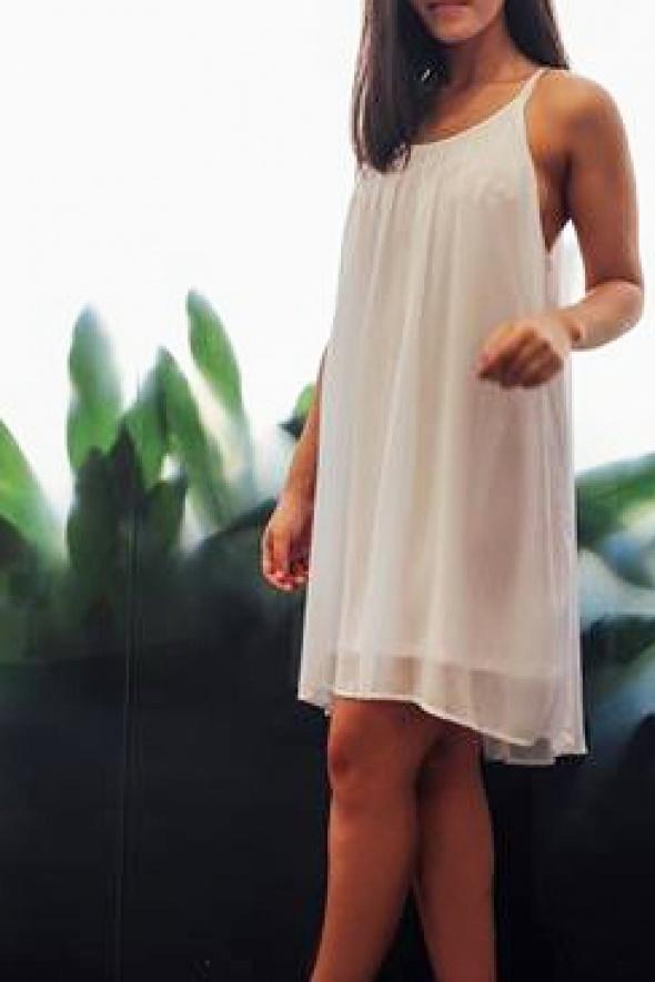 שמלת BUSH לבנה