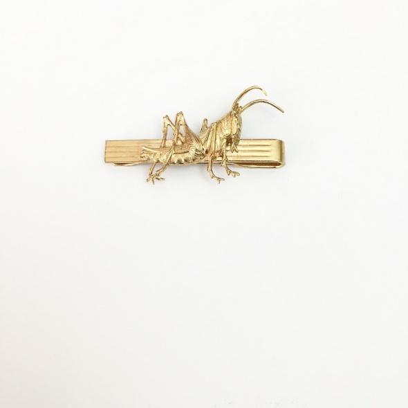 תפס לעניבה חרגול זהב