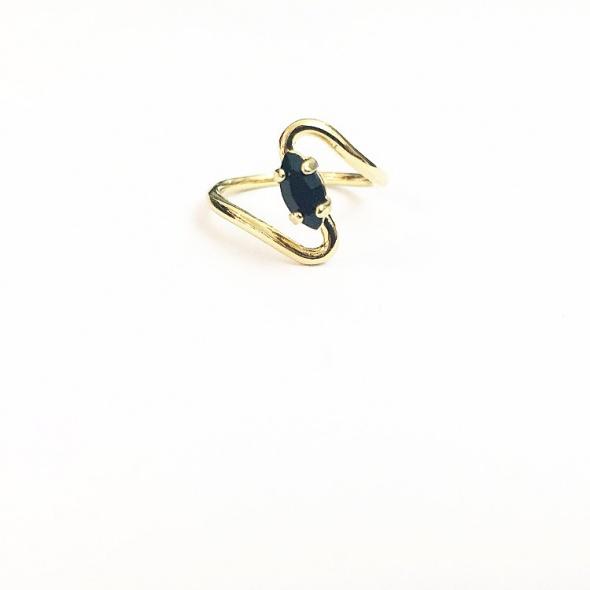 טבעת רוז זהב שחור