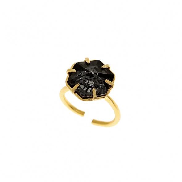 טבעת קינגסטון זהב