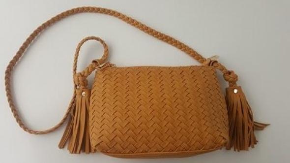 Braid bag- camel