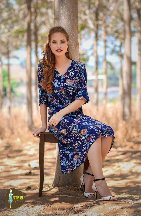 שמלת איזבלה פרחים