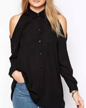 חולצת אנג'י שחורה