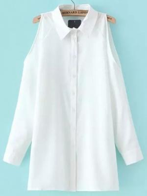 חולצת אנג'י לבנה