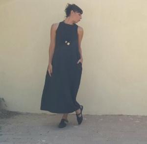 שמלת אום תמר שחורה
