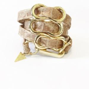 צמיד שמיניות ניוד זהב