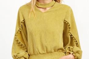 חולצת  YELLOW CHARM