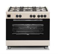 """תנור משולב כיריים דיגיטאלי בעיצוב קלאסי ברוחב 90 ס""""מ Sauter דגם TS9140"""