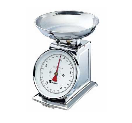 """משקל מטבח לשקילה עד 5 ק""""ג בעיצוב רטרו"""