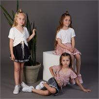 חצאית Oro לילדות (מידות 2-7 שנים) שחור