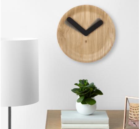 שעון קיר Time Flow בסגנון מודרני ובעיצוב נקי UMBRA - תמונה 3