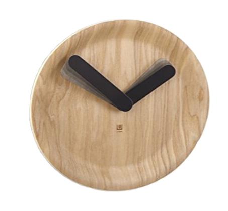 שעון קיר Time Flow בסגנון מודרני ובעיצוב נקי UMBRA - תמונה 2