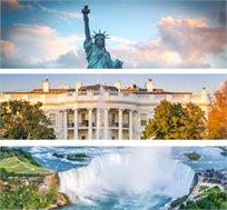 """החלום האמריקאי טיול מאורגן בארה""""ב ל-9 ימים החל מכ-$2610*"""