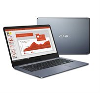 """מחשב נייד ASUS מסך """"14 עם מעבד N4000  זיכרון 4GB דיסק 64GB  מערכת הפעלה windows 10"""