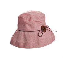 כובע קיץ מנורה גינזבורג לנשים - צבע בלחירה