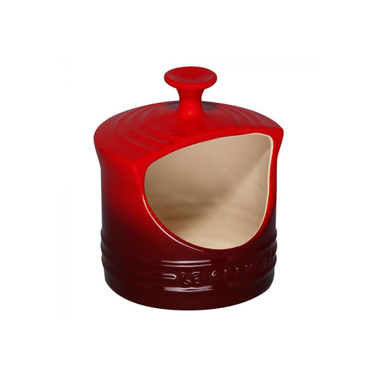 צנצנת לאחסון מלח בנפח 0.3 ליטר מקרמיקה LE CREUSET - משלוח חינם - תמונה 2