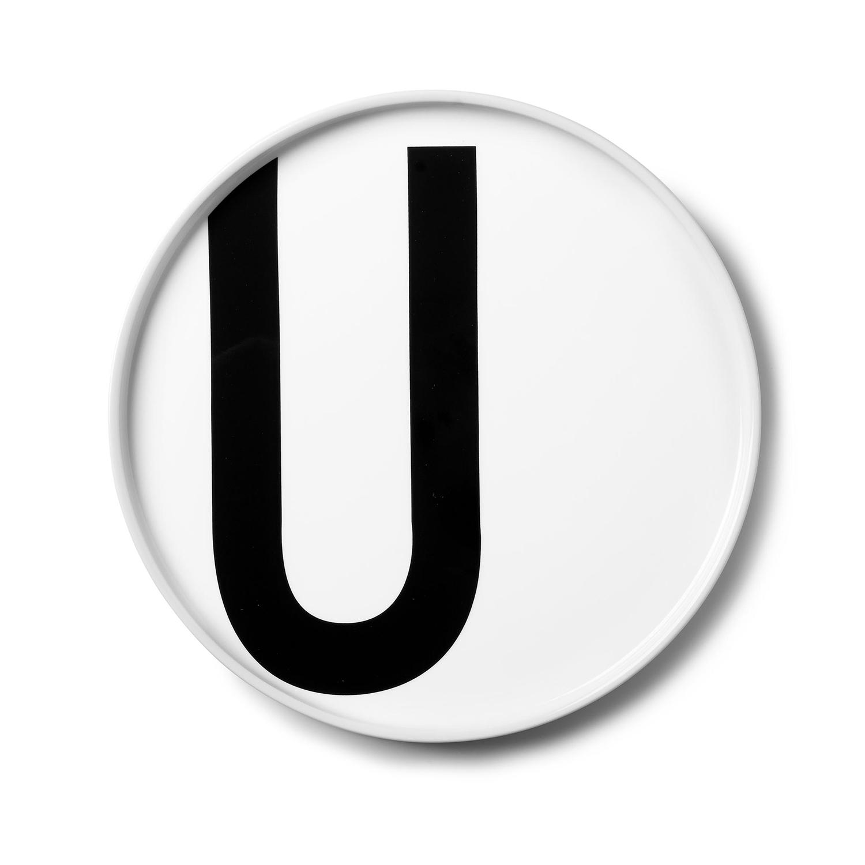 Design Letters// Aj Porcelain Plates U