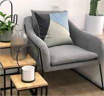 כורסא מודרנית מבד בצבעים לבחירה RICO BRAND דגם מון