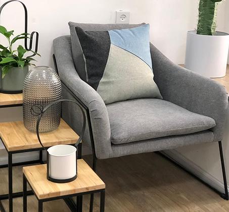 כורסא מודרנית מבד בצבעים לבחירה דגם מון