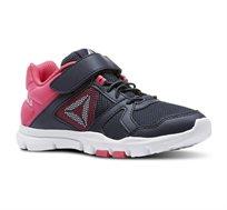 נעלי ריצה לנערות REEBOK דגם CN5670 בצבע נייבי-ורוד