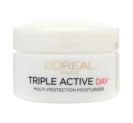 3 יחידות קרם יום לוריאל Triple Active לעור רגיל