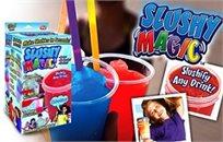 מוכנים לקיץ? כוס פטנט Slushy Magic cup להכנת משקה ברד צונן במגוון טעמים בקלות ובמהירות