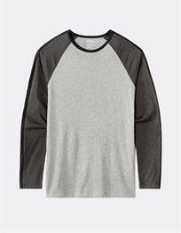 חולצת טי שרוול ארוך טריקולור