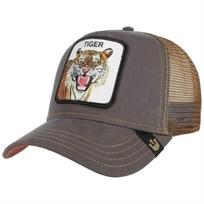 Goorin יוניסקס// Eye Of The Tiger Brown כובע מצחיה חיות