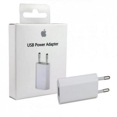 מתאם למטען מקורי Apple 5W USB Power Adapter