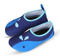 נעלי ים/בריכה לילדים דגם Skin Shoes דולפין Premium Baby בצבע כחול
