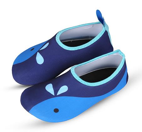 נעלי ים/בריכה לילדים דגם דולפין - כחול