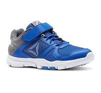 נעלי ספורט לנערים REEBOK דגם CN5669 בצבע כחול/אפור