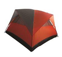 קל וחזק! אוהל משפחתי מפואר מבית CAMPTOWN, להרכבה פשוטה ב-5 דקות מתאים ל-6 אנשים