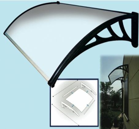 """גגון מעוצב לחלון או לדלת הבית 100-150 ס""""מ"""