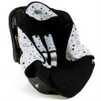 Babymitmit סט מפנק לסלקל- עיטופית וחבקים - Galaxy Collection