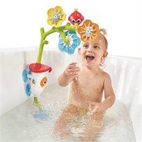 צעצוע אמבט עם סיבוב והשפרצה מובייל מים Sensory Arc