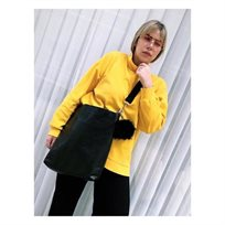 Open Bag /Bag-B - שחור מנוחש