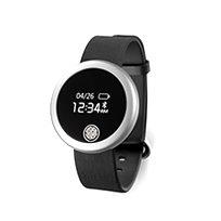 שעון ספורט חכם בעיצוב יוקרתי עם מד דופק מובנה לIPHONE/ANDROID