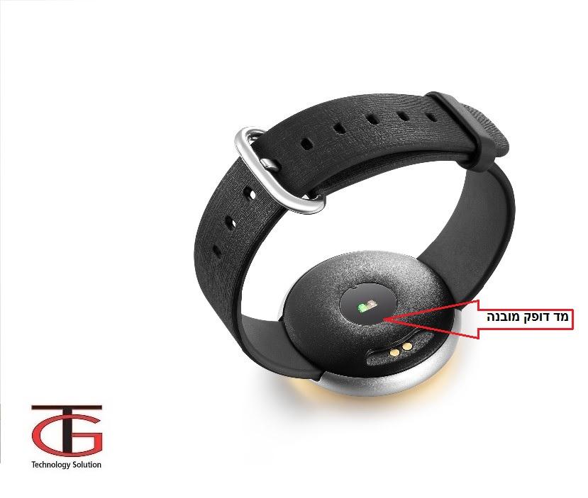 שעון ספורט חכם בעיצוב יוקרתי עם מד דופק מובנה-תאימות מושלמת לIPHONE/ANDROID - תמונה 2