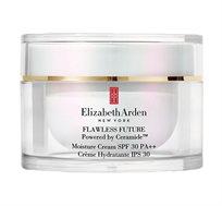 קרם לחות לעור הפנים המכיל סרמיידים ו- SPF30 המעניק הגנה ולחות יומיומית מסדרת פלוליס Elizabeth Arden