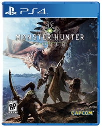 Monster Hunter: World Ps4 אירופאי!