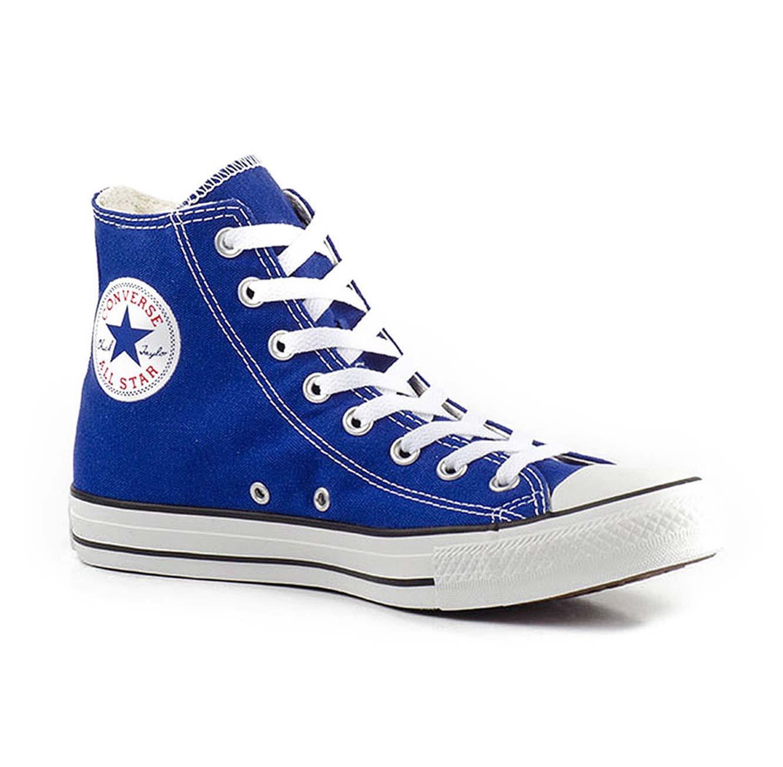 נעלי סניקרס גבוהות יוניסקס - כחול