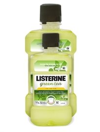 Listerine Mouthwash Green Tea 500+250 Ml