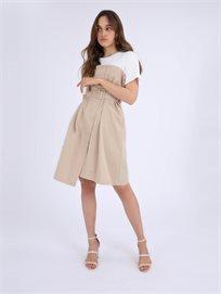 שמלת טישרט מקסין בז' סטייל ריבר
