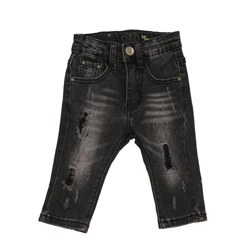 Oro ג'ינס(12 חודשים -16 שנים) - שחור שטיפה פאטצ'