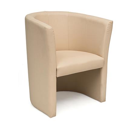 כורסא בריפוד דמוי עור דגם טניה במבחר גוונים לבחירה